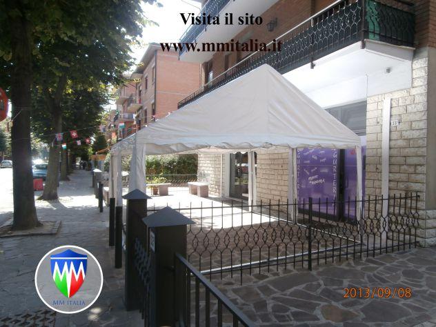 Verande Tendoni per Bar e Ristoranti 4 x 10 x 2,6 mt a Brescia - Foto 4