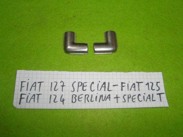 Giunti guarnizione lunotto posteriore Fiat 127 special Fiat 125 Fiat 124 special