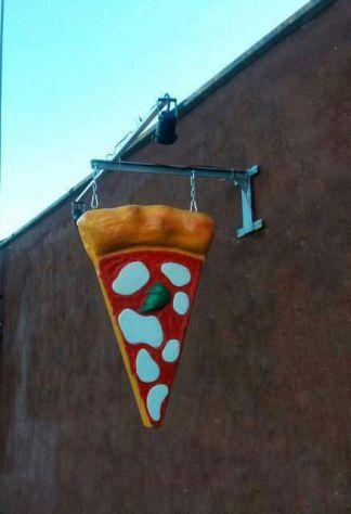 Insegna Pizza a bandiera: - Luminosa a TORINO - Foto 2