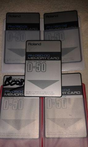 5 Card  x Roland D50/550  M256