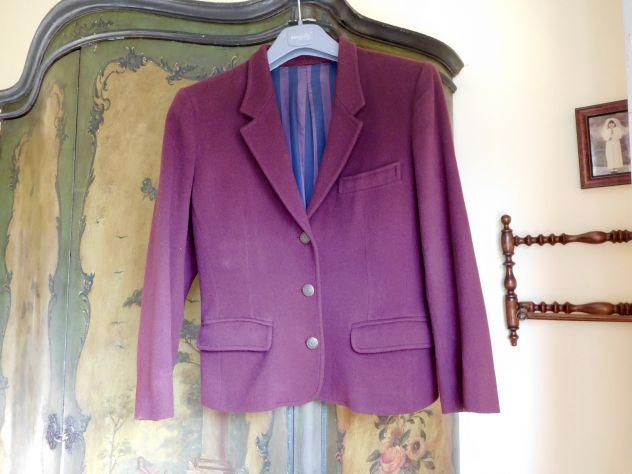 Giacca donna taglia 44 BLUES CLUB rosso bordeau. Made in Italy