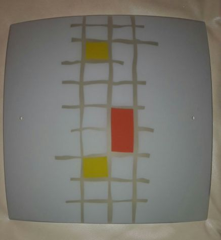 Plafoniera Moderna in Vetro Soffiato