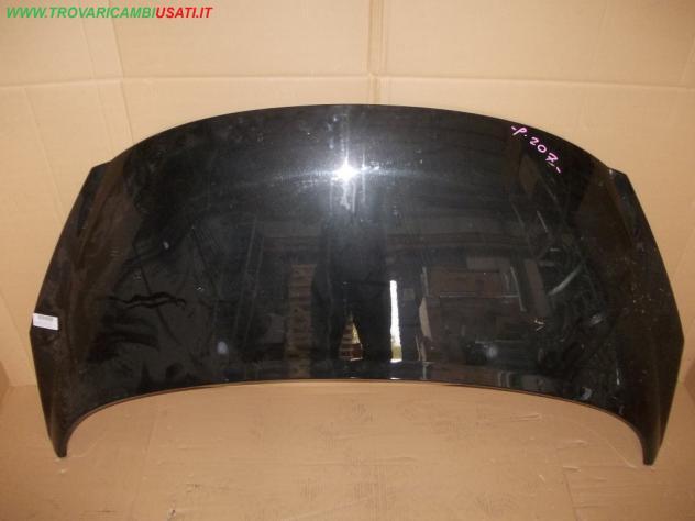 COFANO ANT. NERO MET 09  PEUGEOT 207 (A7) 3 porte / 5 porte