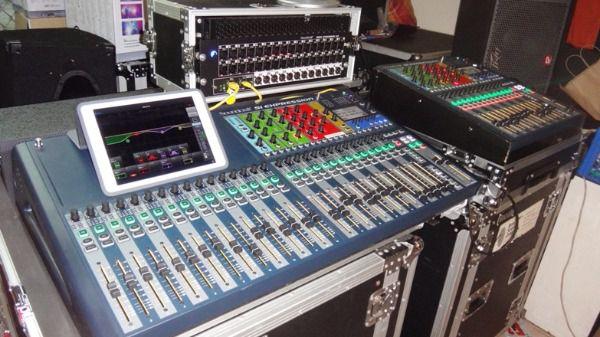 digitali mixer e apparecchiature audio Behringer Yamaha Soundcraft Midas usato  Milano