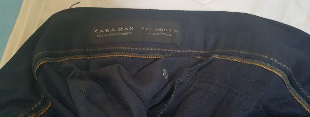 5 paia pantaloni uomo Tg 32 Zara Man e altre marchee - Foto 2