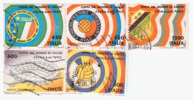 Francobolli Italia usati