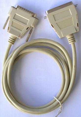 Connettore Cavo porta parallela maschio femmina grigio 25 Pin cm 180 stampante s - Foto 2