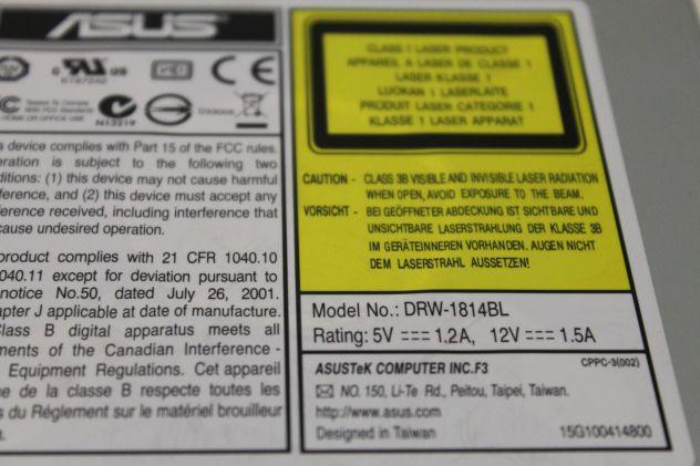 ASUS DRW-1814BL masterizzatore DVD LightScribe - Foto 2
