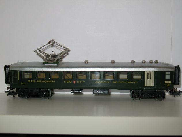Marklin H0 348 2 (4016) Carrozza Ristorante Ferrovie Svizzere