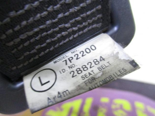 7P2200 CINTURA DI SICUREZZA POSTERIORE SINISTRA PEUGEOT 107 1.0 B 5M 50KW ( … - Foto 2