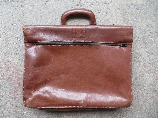 borsa portadocumenti in pelle - Foto 3