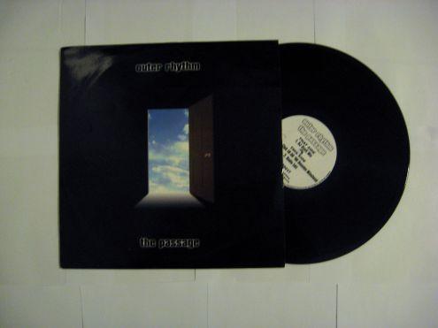 45 rmp (EP) originale del 1995 - Outer rhythm The Passage