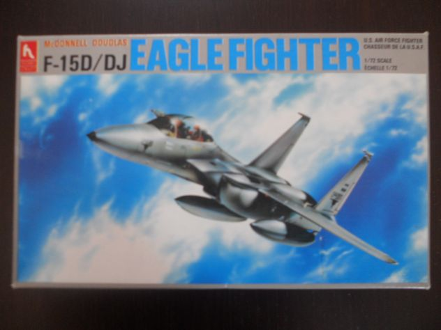 F -15 D/DJ  EAGLE FIGHTER  SCALA  1/72   HOBBY CRAFT