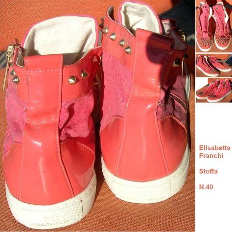 Scarpe donna Elisabetta Franchi Sneakers nr. 40 rosa  Composizione: Pe - Foto 3