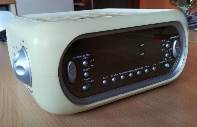 RadioSveglia Dual AM/FM Stereo con lettore CD. - Foto 3
