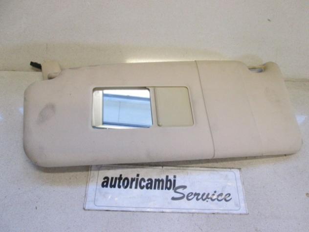 AUDI A6 SW 2.5 DIESEL AUT 132KW (2003) RICAMBIO ALETTA PARASOLE LATO SINIST …