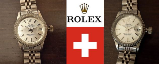 ROLEX OYSTER PERPETUAL DATEJUST, CHRONOMETER OFFICIALLY CERTIFIED Lady.