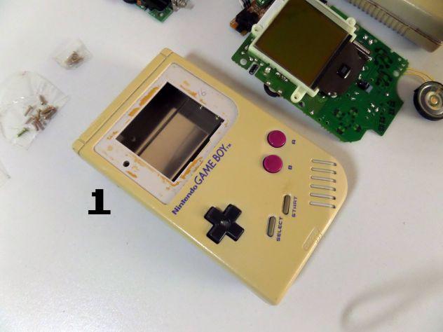 Ricambi Game Boy classic originali (elettronica e case completi) - Foto 2