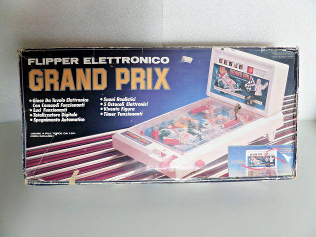 Scatola originale Flipper d'epoca elettronico