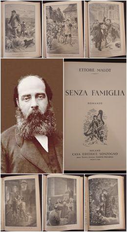 SENZA FAMIGLIA, ETTORE MALOT, CASA EDITRICE SONZOGNO 1948.