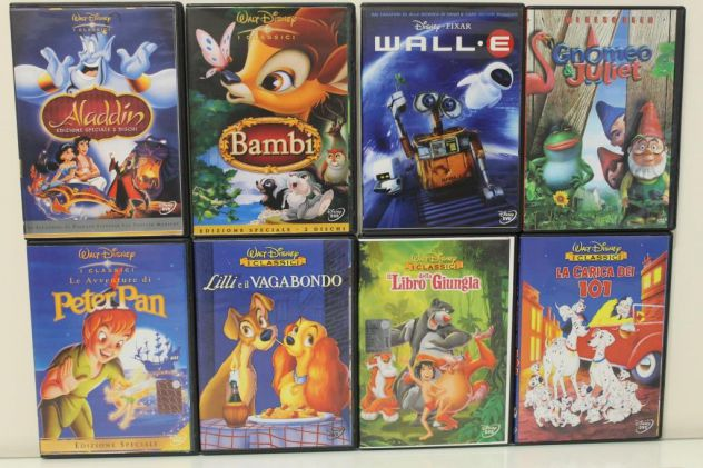 DVD Cartoni Animati Film Commedie Concerti Ecc - Foto 3