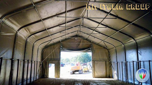 Tendoni coperture strutture gazebo tensostrutture  in Pvc per tutti gli usi - Foto 5