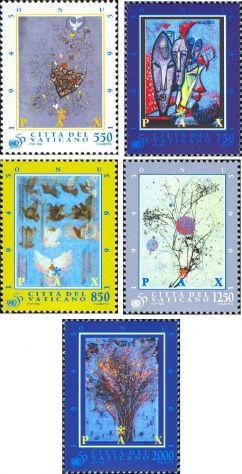 Francobolli nuovi annata 1995 Vaticano - Foto 7