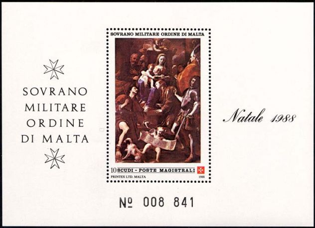 Francobolli nuovi annata 1988 S.M.O.M. - Foto 10