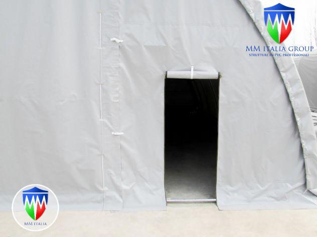Agritunnel tunnel agricoli 9,15 x 16 x 4,5 professionali diam Ø 76 mm. - Foto 4