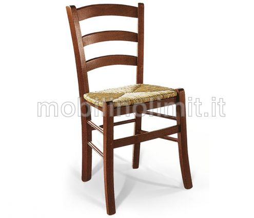 Sedia Venezia con seduta in Paglia - Nuovo