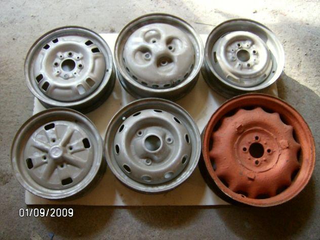 Cerchi per auto d'epoca Alfa Fiat Lancia Renault Simca