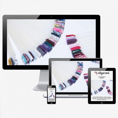 Video Corso Online di Nail Art  www.oligenesi.it