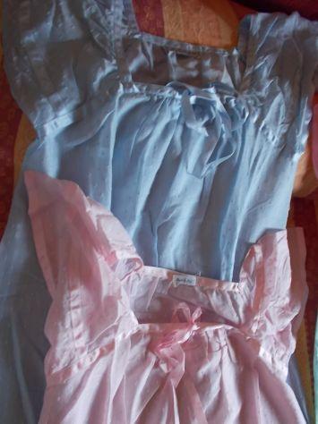 5 camicie da notte + 1 pigiama