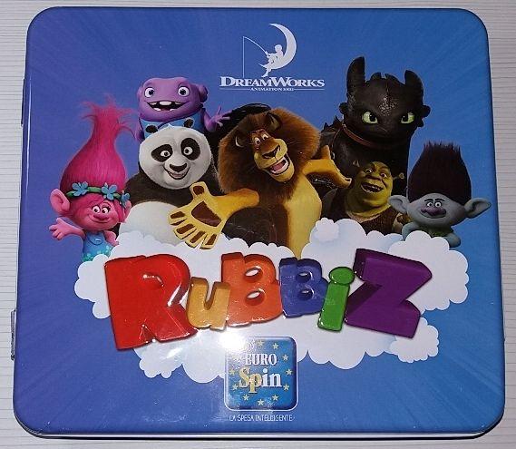 Rubbiz DREAMWORKS Collezione Completa + Cartine + Raccoglitore