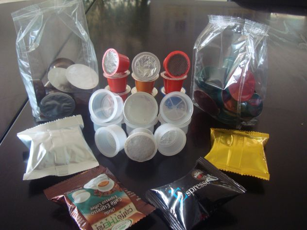 Linea capsule per caffè ed affini