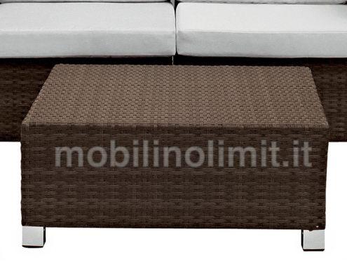 Tavolino Coffee Marrone per esterno - Linea 280 - Nuovo