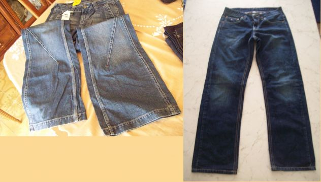 Pantaloni Jeans originali Firmati nuovi per bimbi