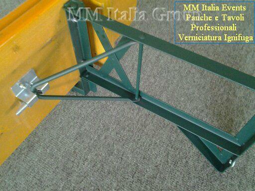 50 set panche e tavoli pieghevoli professionali per sagre noleggio - Foto 2