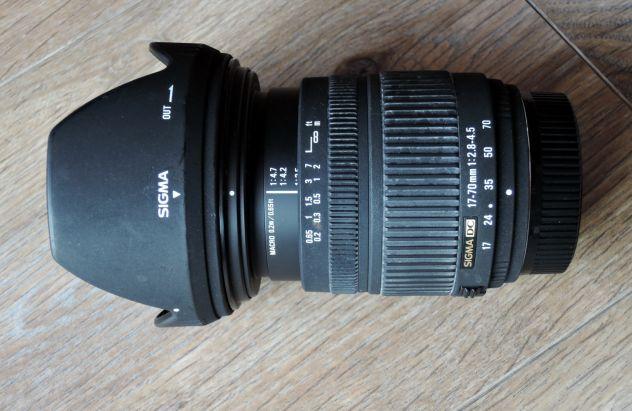 Obiettivo Sigma DC 17-70f2.8 attacco Nikon - Foto 2