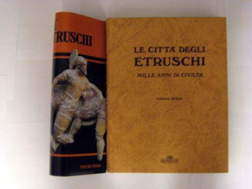 Opera in 2 volumi 'LE CITTA ' DEGLI ETRUSCHI ' - Foto 2