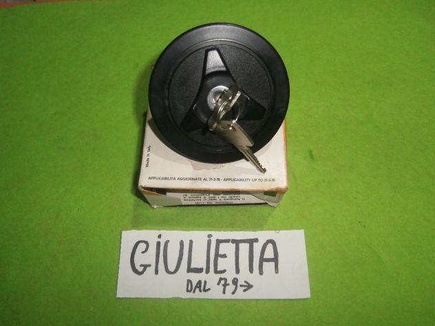 Tappo serbatoio Alfa Giulietta 1.3 1.6 1.8 2.0 Turbodelta versioni dal 79>