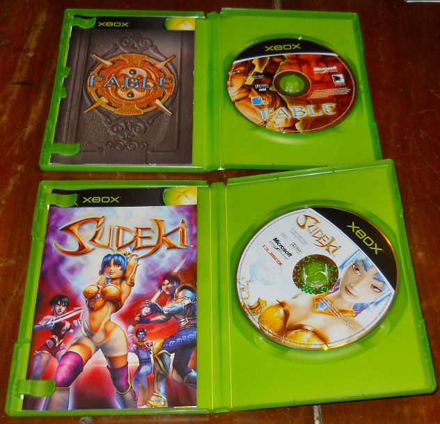 set lotto 4 giochi microsoft xbox sudeki fable hulk fantastic four PAL - Foto 4