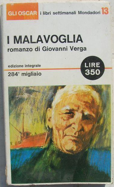 I MALAVOGLIA romanzo di Giovanni Verga
