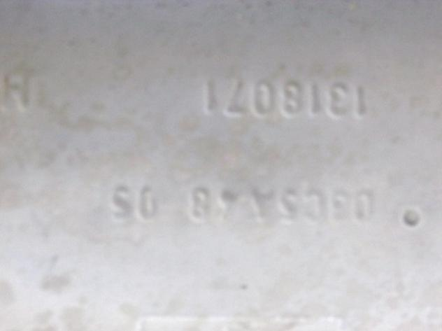 1578102 MARMITTA TUBO DI SCARICO CON SILENZIATORE TERMINALE FORD FIESTA 1.2 … - Foto 4