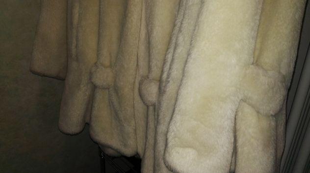 sale retailer 1a66a 5608d Giacca pelliccia ecologica Zoom-On beige-bianca - Annunci ...
