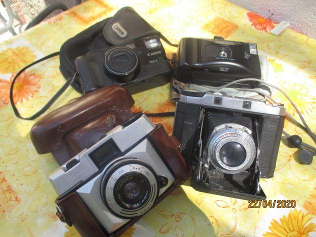 Macchine fotografici anni 50