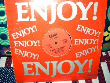 disco mix rap 80 = the disco four = enjoy records usa