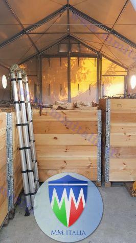 Tendoni  coperture per deposito magazzino 8 x 20 con velcro uso annuale - Foto 3