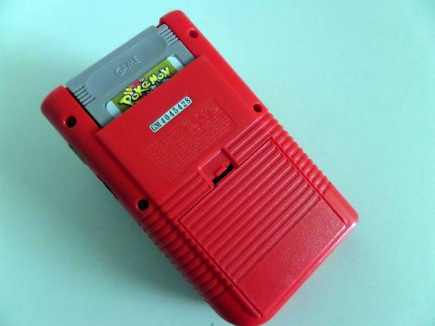 Game Boy Classic rosso + gioco Pokèmon Gold - Foto 5