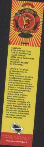 Segnalibro La parmigiana e la Rivoluzione, Don Pasta